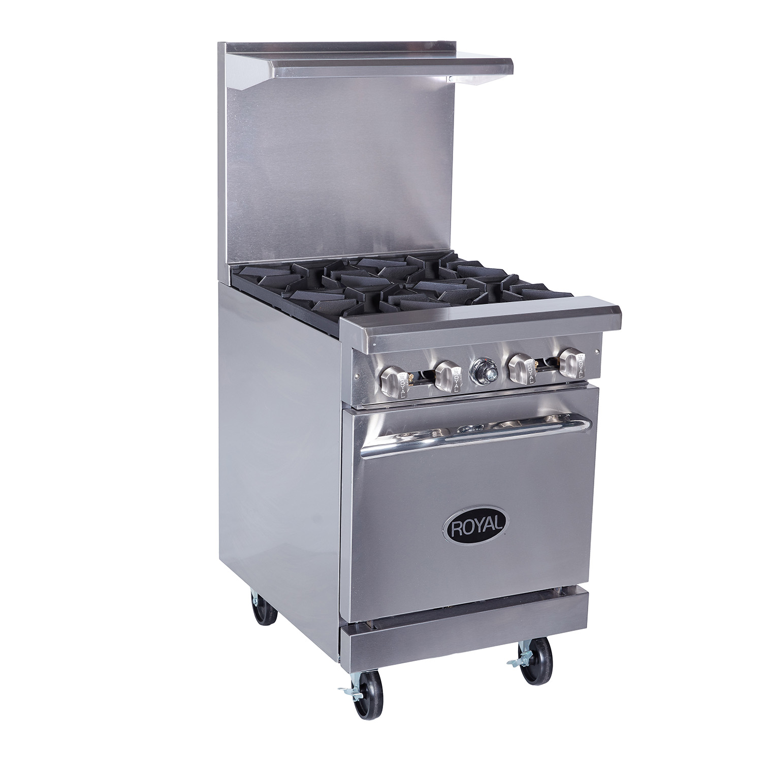 Royal Range Of California, 4 Burners Gas Ranges With Wide Oven